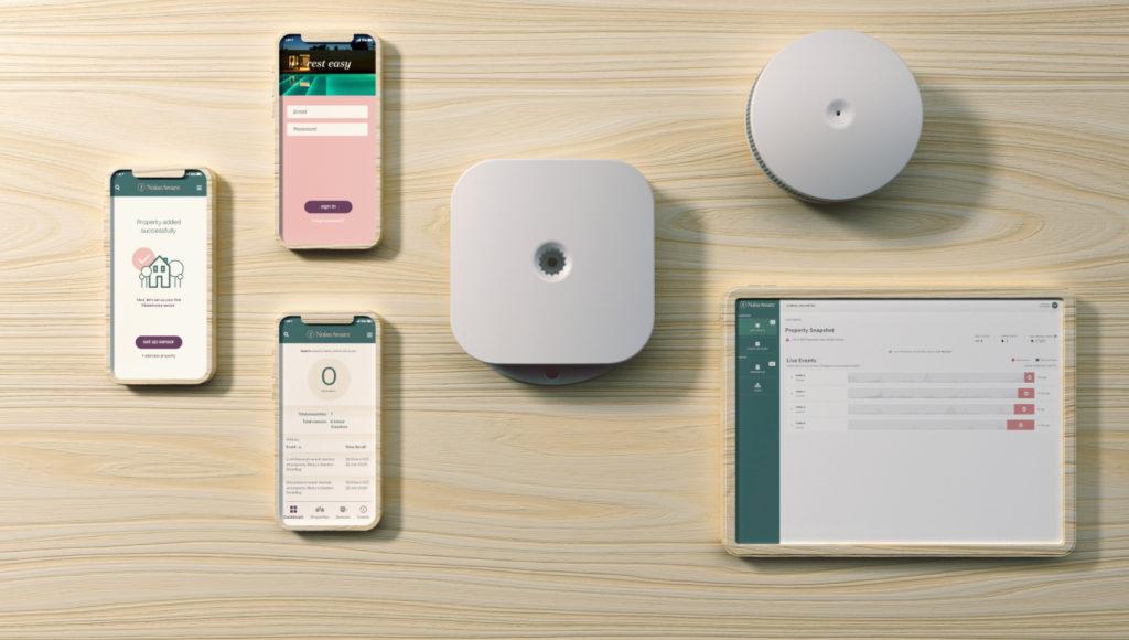 noise detection device app wall noiseaware