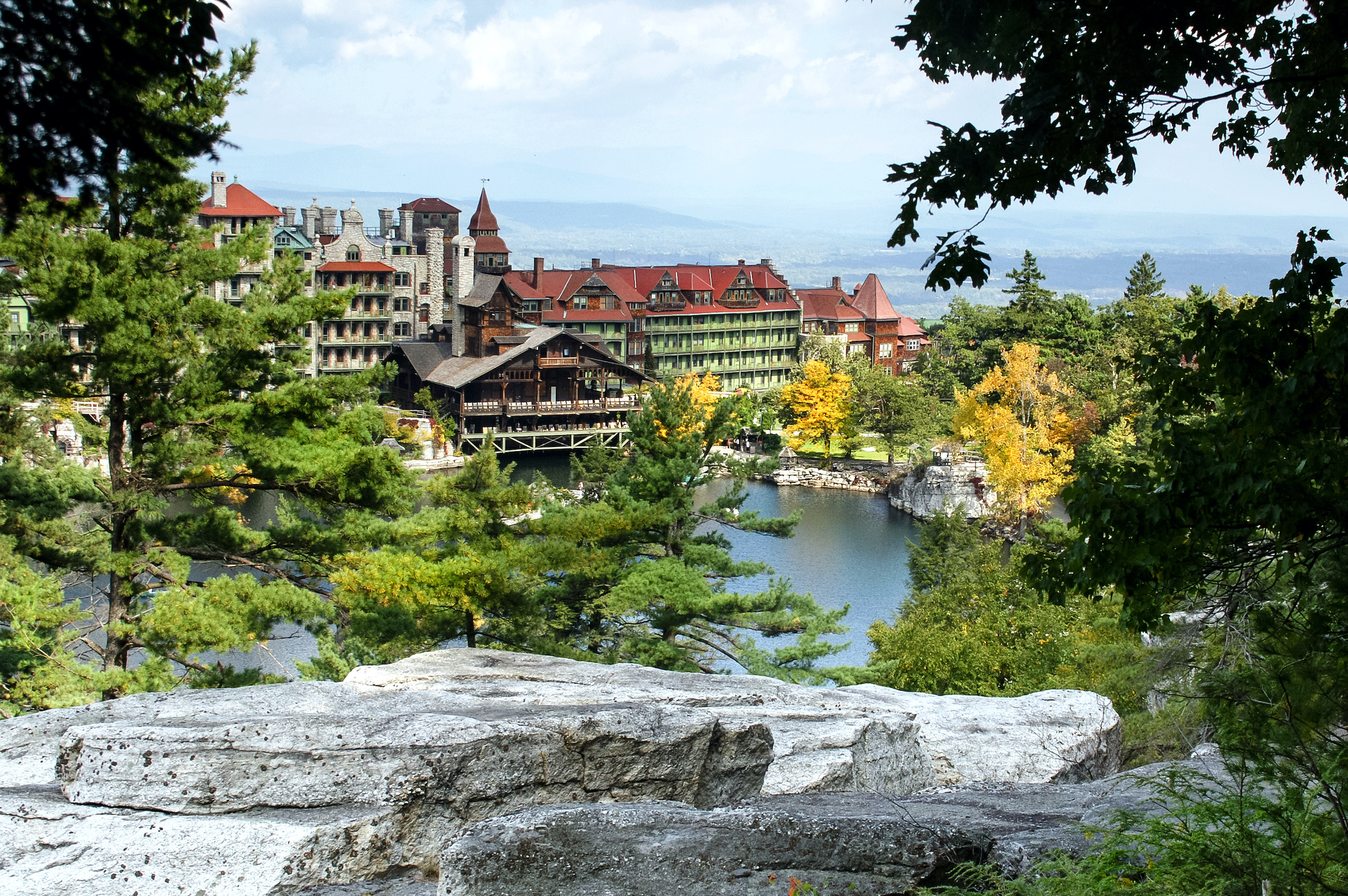 vacation rental income catskills new york large property lake